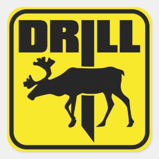 DRILL SQUARE STICKERS