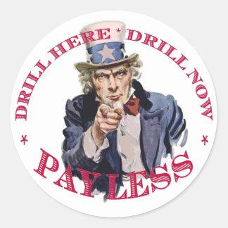 Drill Sticker I