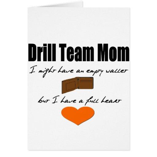 Drill Team Mom - Empty Hearts, Full Wallet Card