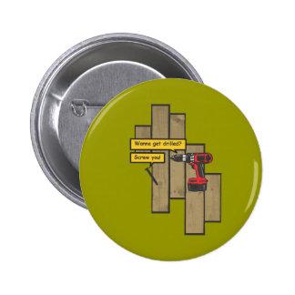 Drilled Button