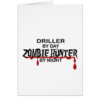 Driller Zombie Hunter Card