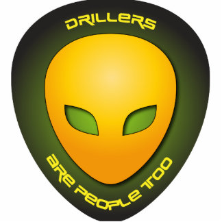 Drillers Are People Too Photo Sculpture Ornament