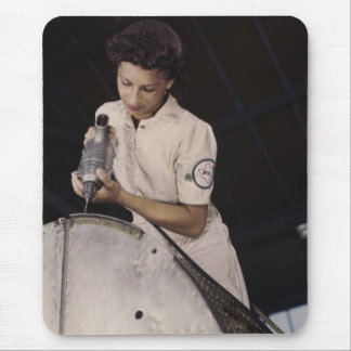 Drilling Deep, 1940s Mouse Pad