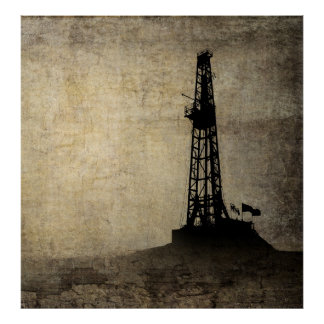 DRILLING for ENERGY Poster
