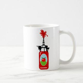 Drilling For Ketchup Coffee Mug