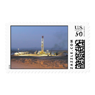 Drilling for Oil Postage