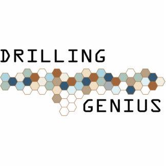 Drilling Genius Photo Sculpture Ornament