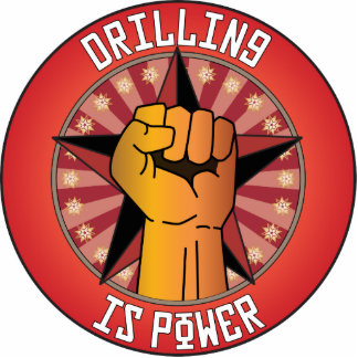 Drilling Is Power Photo Sculpture Ornament