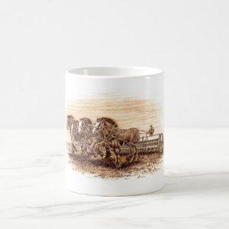 Drilling Oats Classic White Coffee Mug