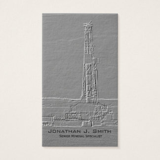 Drilling Rig Business Card