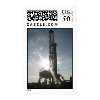 Drilling Rig Daylight Postage