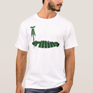 Drilling Rig Green, Oil Rig T-Shirt
