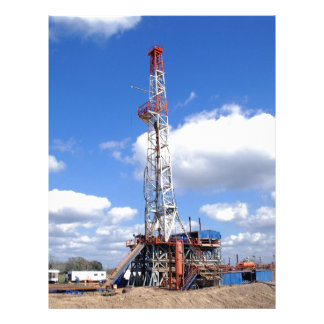 Drilling Rig in South Texas Letterhead