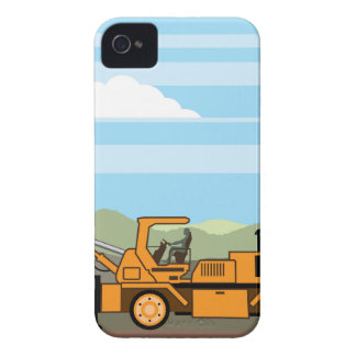 Drilling Rig Tractor Vehicle Machinery iPhone 4 Case