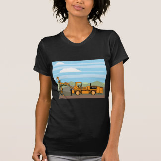 Drilling Rig Tractor Vehicle Machinery T-Shirt