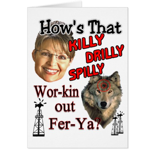 drilly killy spilly card