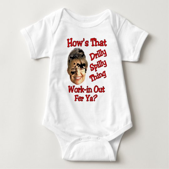 drilly spilly thing baby bodysuit