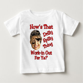 drilly spilly thing infant t-shirt
