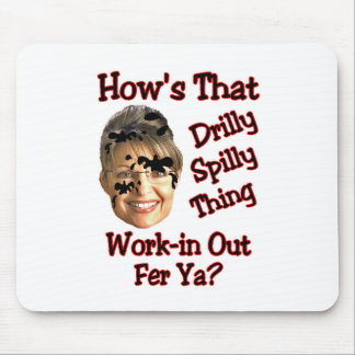 drilly spilly thing mousepads