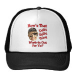 drilly spilly thing trucker hat