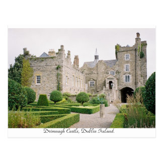 Drimnagh Castle, Dublin Ireland. Postcard