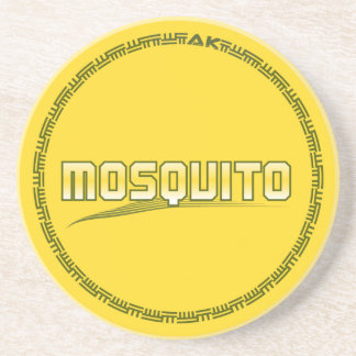 Drink a Mosquito Beverage Coaster