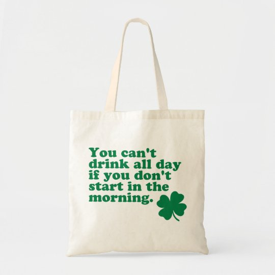 Drink All Day Shirt Tote Bag