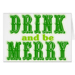 Drink and be Merry Card