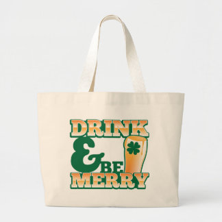 Drink and Be MERRY! from The Beer Shop Canvas Bag