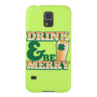 Drink and Be MERRY! from The Beer Shop Case For Galaxy S5