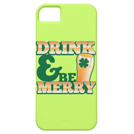 Drink and Be MERRY! from The Beer Shop iPhone SE/5/5s Case