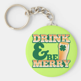 Drink and Be MERRY! from The Beer Shop Keychains