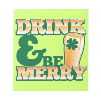 Drink and Be MERRY! from The Beer Shop Notepad