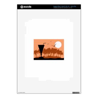 DRINK AT SUNSET iPad 3 SKINS