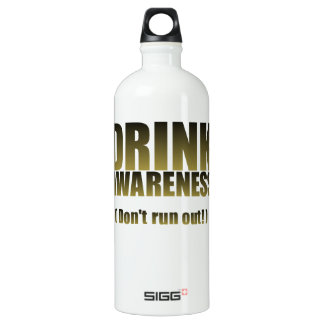 Drink Awareness Fun for all Occasion Water Bottle