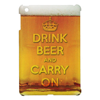Drink beer and carry on iPad mini cases