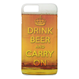 Drink beer and carry on iPhone 8 plus/7 plus case