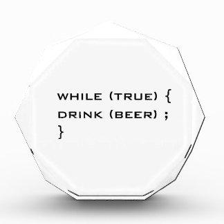 Drink beer award