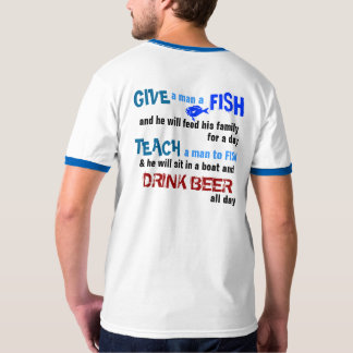 Drink Beer & Fish Tshirt