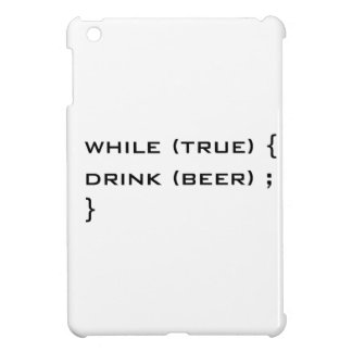 Drink beer iPad mini case