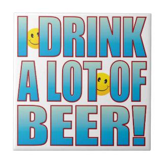 Drink Beer Life B Tile