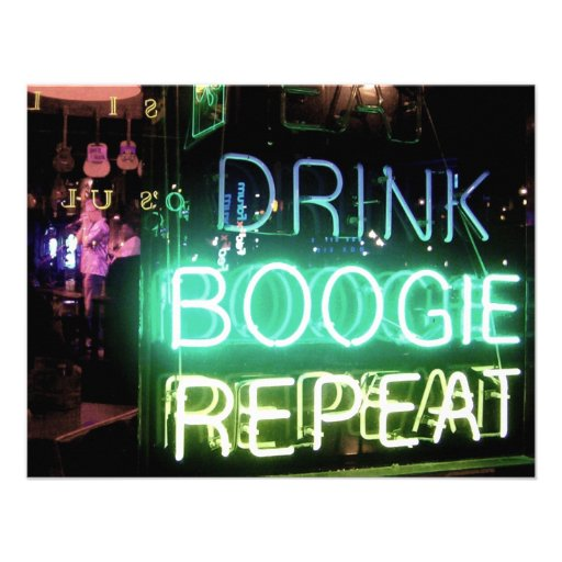 Drink, Boogie, Repeat! Custom Announcements