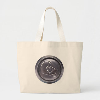 drink can - top side large tote bag