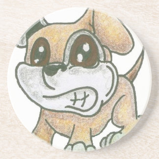 Drink Coasters - TOWT Mascot Dog GROWL