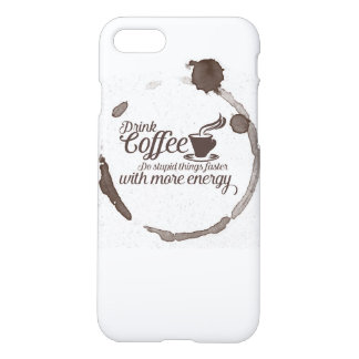 Drink coffee iPhone 8/7 case