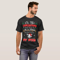 Drink Coffee Pet Pig Christmas Ugly Sweater