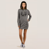 Drink Coffee Save Animals and Sleep | Hoodie Dress
