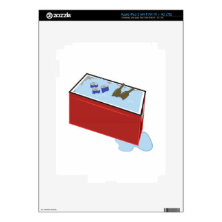 Drink Cooler Skin For iPad 3