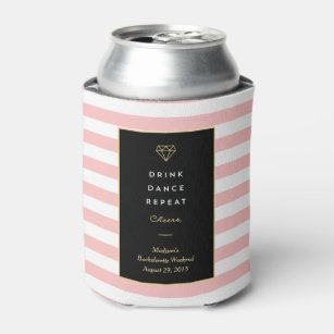 Drink Dance Repeat | Bachelorette Can Cooler