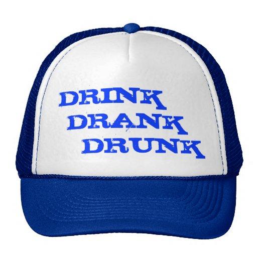 Drink Drank Drunk Hat